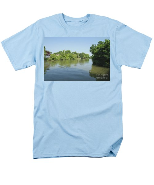 Men's T-Shirt  (Regular Fit) featuring the photograph Erie Canal by William Norton
