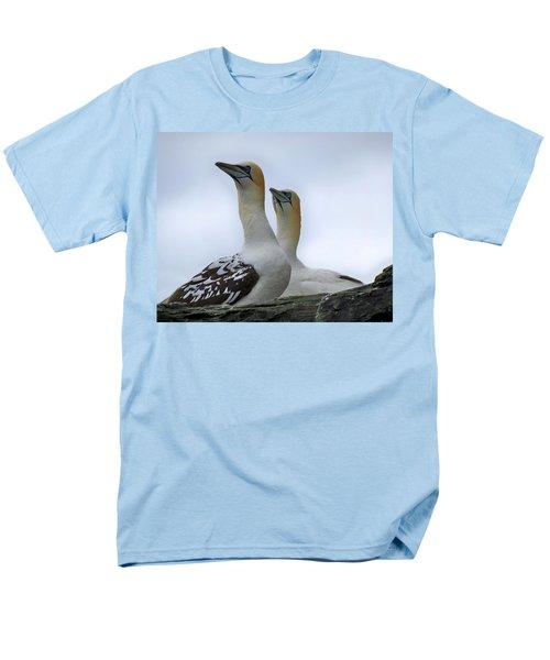 Gannets Men's T-Shirt  (Regular Fit) by Lynn Bolt