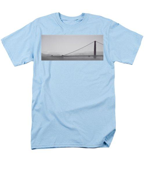 Men's T-Shirt  (Regular Fit) featuring the photograph Golden Gate Morning by Don Schwartz