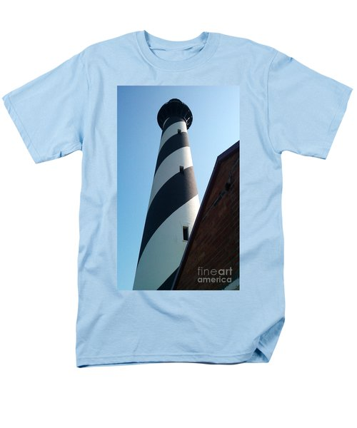 Hatteras Light Men's T-Shirt  (Regular Fit) by Tony Cooper