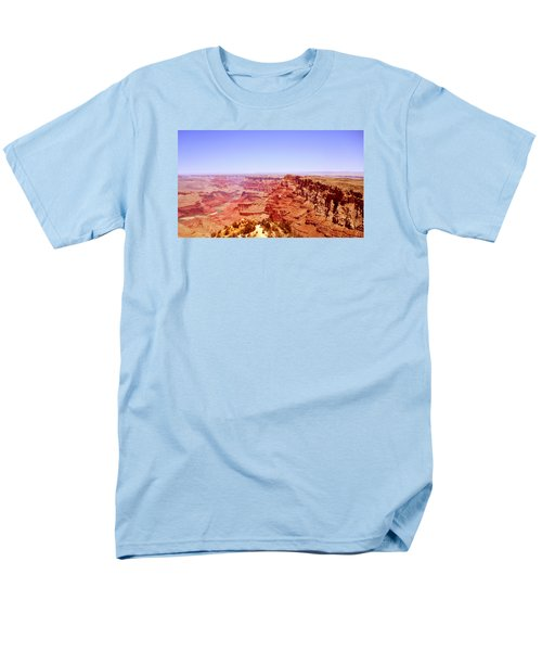 Men's T-Shirt  (Regular Fit) featuring the photograph horizon in Grand Canyon by Rima Biswas