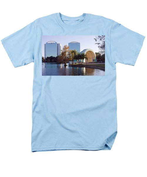 Lake Eola's  Classical Revival Amphitheater Men's T-Shirt  (Regular Fit) by Lynn Palmer