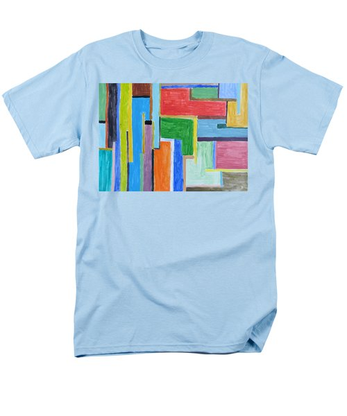 Men's T-Shirt  (Regular Fit) featuring the painting Life by Sonali Gangane