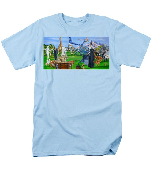 Looking Out My Back Door Men's T-Shirt  (Regular Fit) by Bryan Bustard