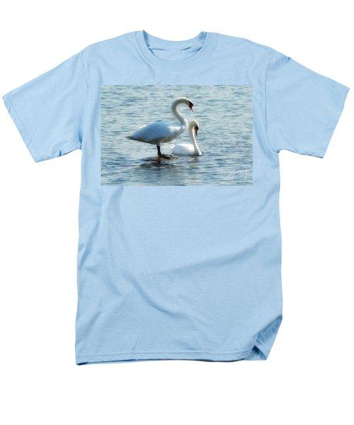 Mating Pair Men's T-Shirt  (Regular Fit) by Andrea Kollo