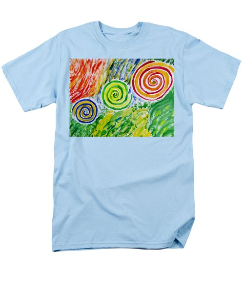 Men's T-Shirt  (Regular Fit) featuring the painting Meditation by Sonali Gangane