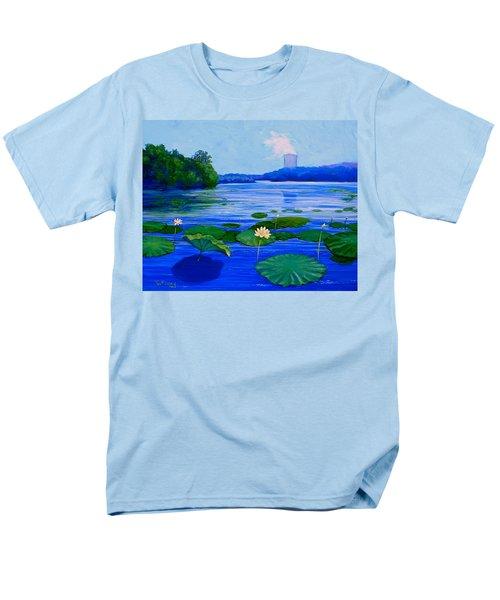 Modern Mississippi Landscape Men's T-Shirt  (Regular Fit) by Jeanette Jarmon