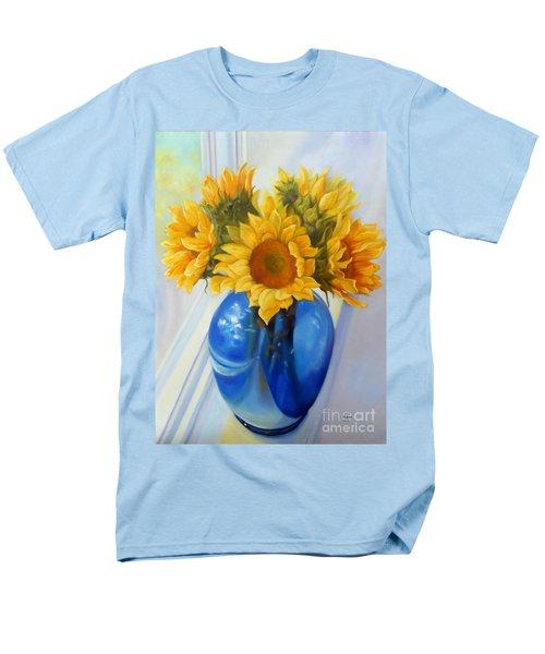 My Sunflowers Men's T-Shirt  (Regular Fit)