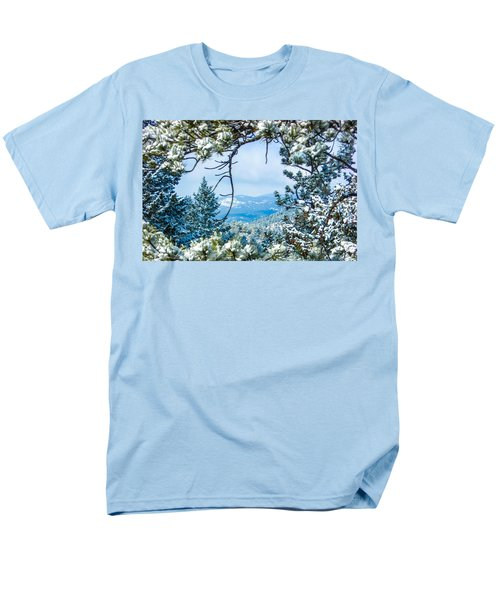 Men's T-Shirt  (Regular Fit) featuring the photograph Natural Wreath by Shannon Harrington