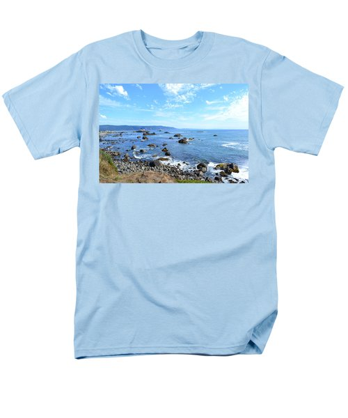 Northern California Coast3 Men's T-Shirt  (Regular Fit) by Zawhaus Photography