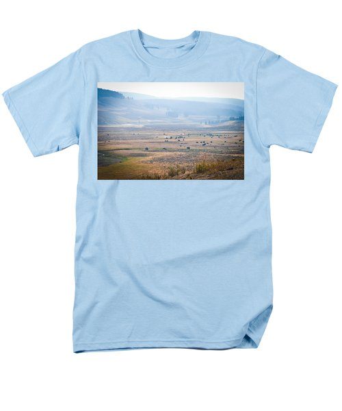Men's T-Shirt  (Regular Fit) featuring the photograph Oh Home On The Range by Cheryl Baxter
