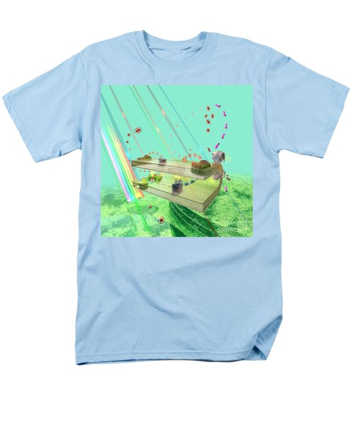 Men's T-Shirt  (Regular Fit) featuring the digital art Photosynthesis by Russell Kightley