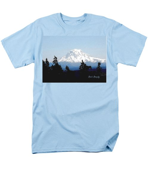 Rainier Reign Men's T-Shirt  (Regular Fit) by Sadie Reneau