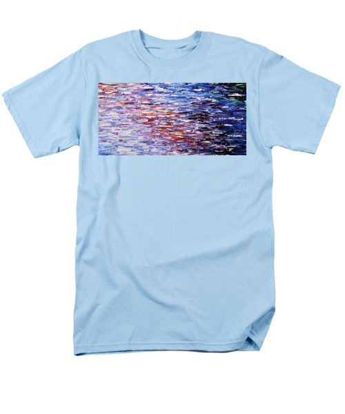 Men's T-Shirt  (Regular Fit) featuring the painting Reflections by Kume Bryant