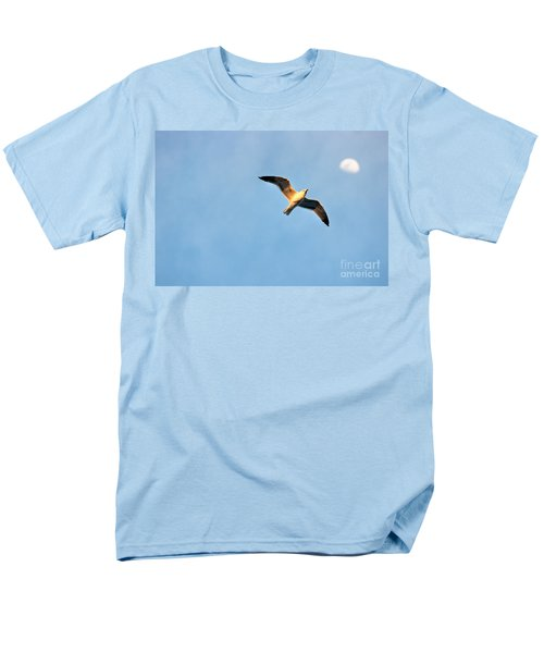 Men's T-Shirt  (Regular Fit) featuring the photograph Seagull by Luciano Mortula