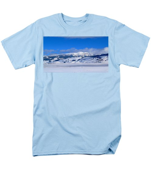 Men's T-Shirt  (Regular Fit) featuring the photograph Sleeping Indian by Eric Tressler