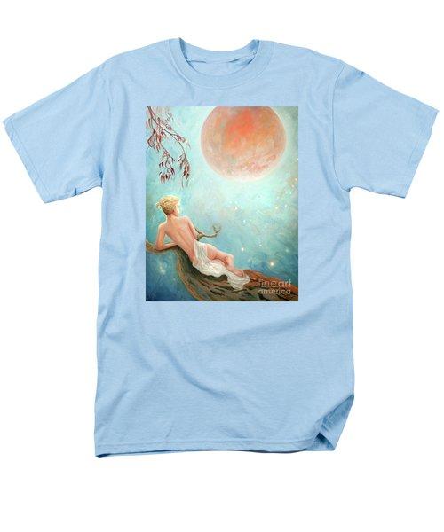 Strawberry Moon Nymph Men's T-Shirt  (Regular Fit)