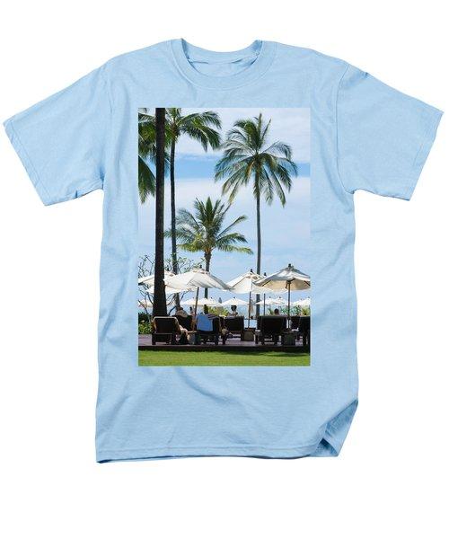 Sunbath Near The Pool Men's T-Shirt  (Regular Fit) by Atiketta Sangasaeng