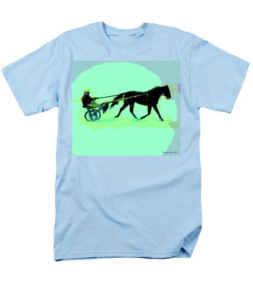 Men's T-Shirt  (Regular Fit) featuring the photograph Trotter by George Pedro