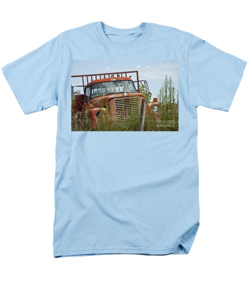 Turned Out To Pasture Men's T-Shirt  (Regular Fit) by Wilma  Birdwell