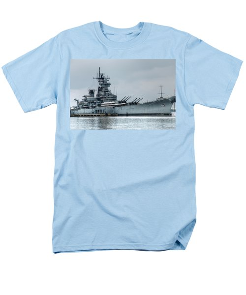 Uss New Jersey Men's T-Shirt  (Regular Fit) by Jennifer Ancker