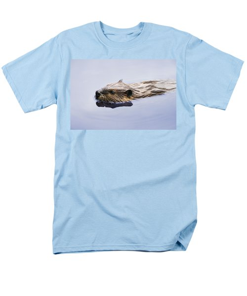 View Of Beaver, Chaudiere-appalaches Men's T-Shirt  (Regular Fit) by Yves Marcoux