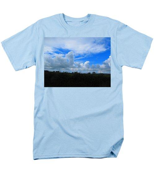 Welsh Sky Men's T-Shirt  (Regular Fit) by Ian Kowalski
