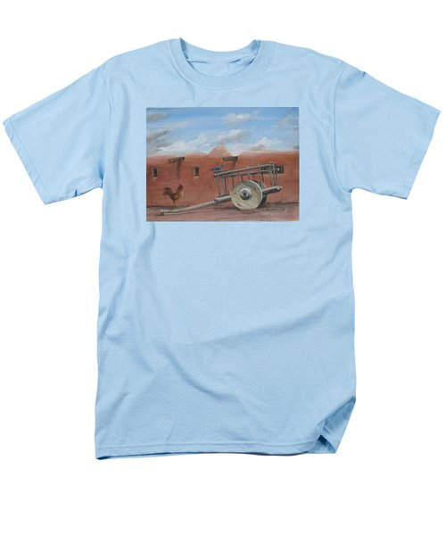Old Spanish Cart  Men's T-Shirt  (Regular Fit) by Oz Freedgood