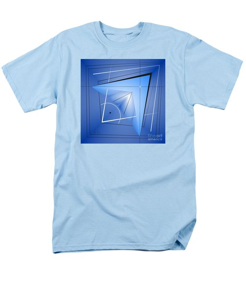 Men's T-Shirt  (Regular Fit) featuring the digital art  Structural Limitations Of Thought by Leo Symon