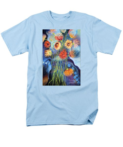 01314 African Daisies Men's T-Shirt  (Regular Fit) by AnneKarin Glass