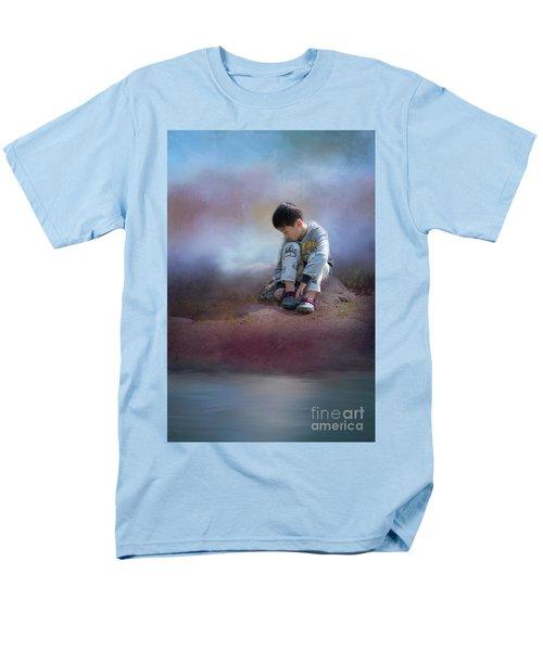 Alone Men's T-Shirt  (Regular Fit) by Eva Lechner