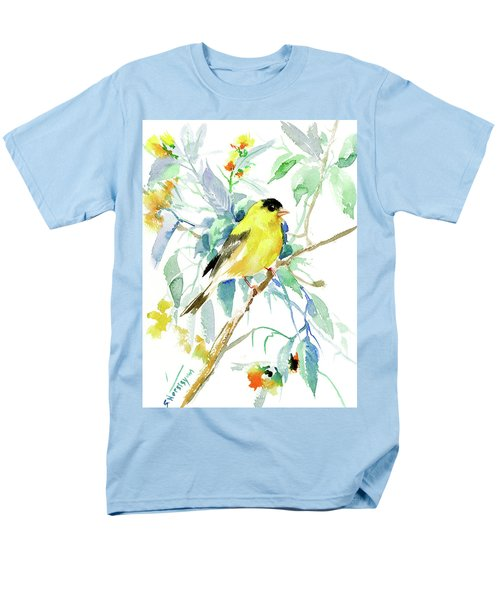 American Goldfinch Men's T-Shirt  (Regular Fit) by Suren Nersisyan