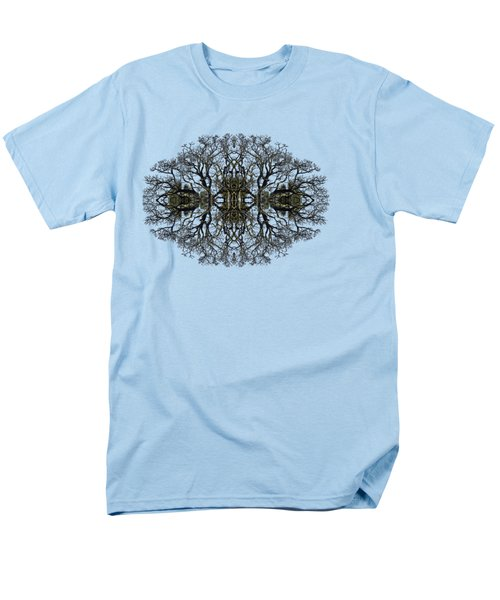Men's T-Shirt  (Regular Fit) featuring the photograph Bare Tree by Debra and Dave Vanderlaan