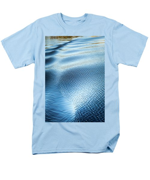 Blue On Blue Men's T-Shirt  (Regular Fit) by Karen Wiles