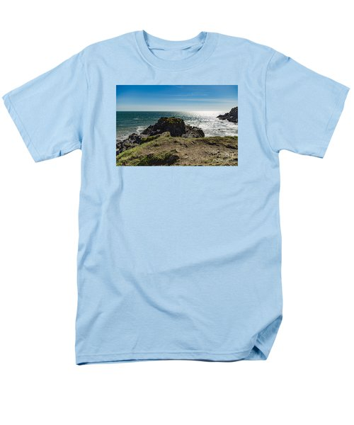 Cadgwith Cove Men's T-Shirt  (Regular Fit) by Brian Roscorla