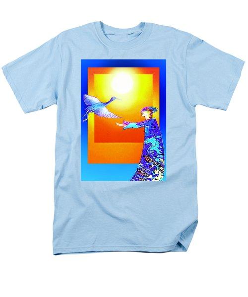 Colorful Friends Men's T-Shirt  (Regular Fit) by Hartmut Jager
