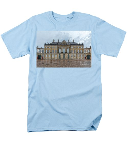 Men's T-Shirt  (Regular Fit) featuring the photograph Copenhagen Amalienborg Palace by Antony McAulay
