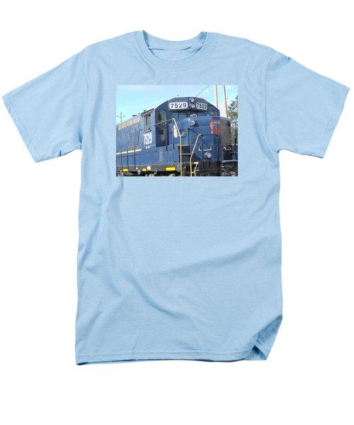 Diesel Engline Train Men's T-Shirt  (Regular Fit) by Linda Geiger