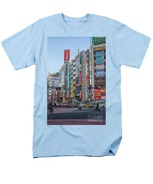 Downtown Tokyo Men's T-Shirt  (Regular Fit) by Patricia Hofmeester