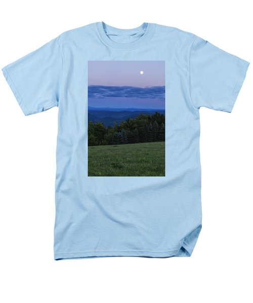Men's T-Shirt  (Regular Fit) featuring the photograph East Dover Full Moon by Tom Singleton