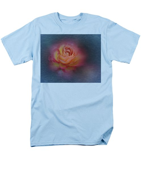 End Of September 2016 Rose Men's T-Shirt  (Regular Fit) by Richard Cummings
