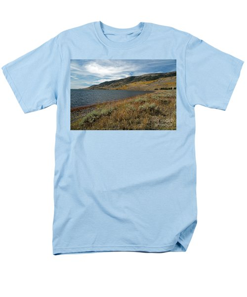 Fish Lake Ut Men's T-Shirt  (Regular Fit) by Cindy Murphy - NightVisions