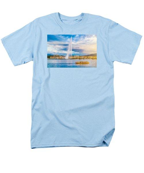 Geneva Men's T-Shirt  (Regular Fit) by JR Photography