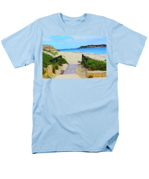 Hamelin Bay Men's T-Shirt  (Regular Fit) by Cassandra Buckley
