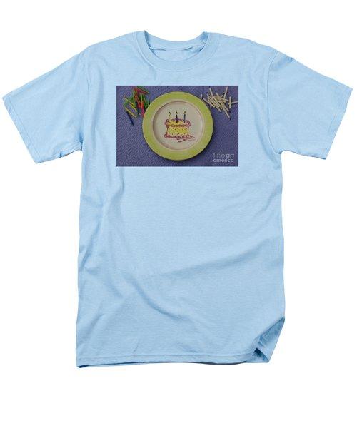Happy Birthday Men's T-Shirt  (Regular Fit) by Sandy Molinaro