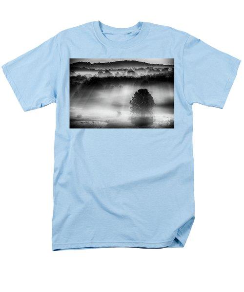 Morning Fog Men's T-Shirt  (Regular Fit) by Nicki McManus