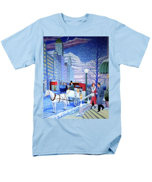 Nightfall Men's T-Shirt  (Regular Fit) by Tracy Dennison