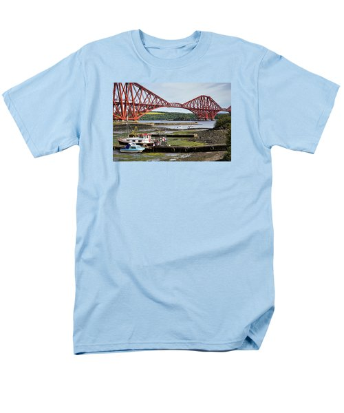 Men's T-Shirt  (Regular Fit) featuring the photograph North Queensferry by Jeremy Lavender Photography