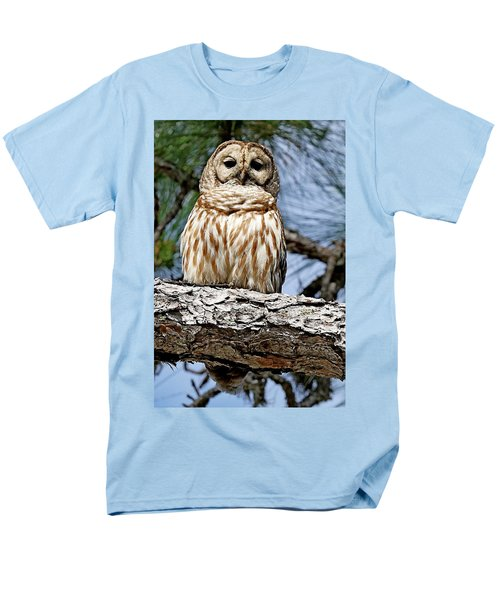 Owl In A Tree Men's T-Shirt  (Regular Fit)