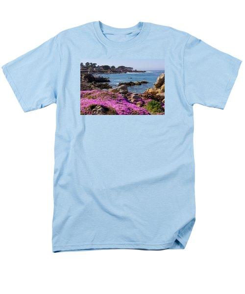 Pacific Grove Men's T-Shirt  (Regular Fit) by Derek Dean
